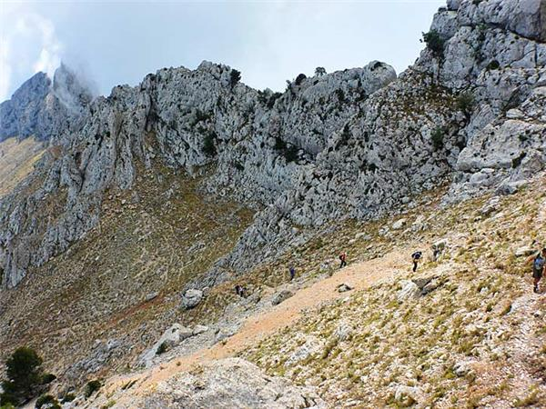 Sierra de Aitana activity holiday in Spain