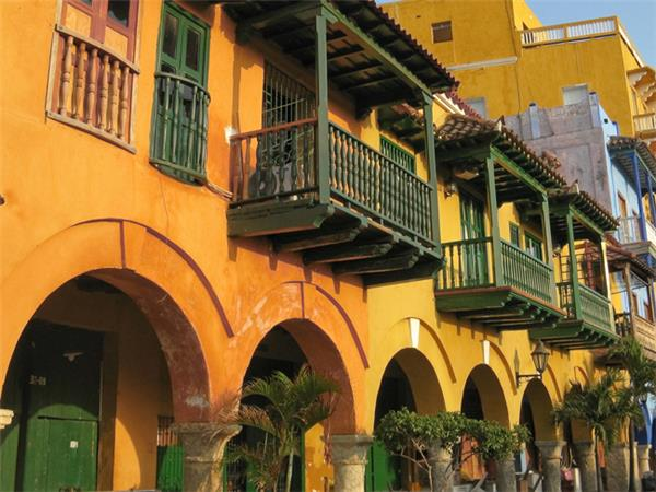 Colombia tour, Colombia encompassed