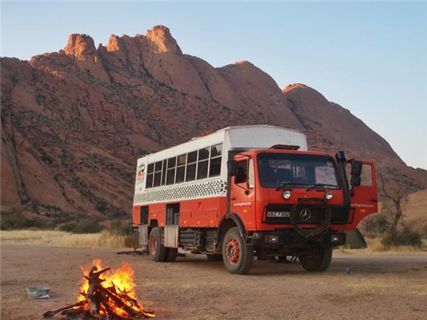 Nairobi and Cape Town African overland truck tour