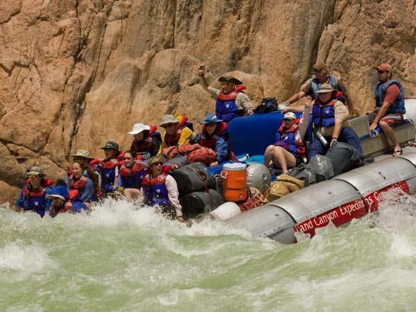 Grand Canyon white water rafting tour
