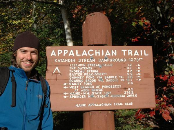 Appalachian Trail walking holiday in America, camping