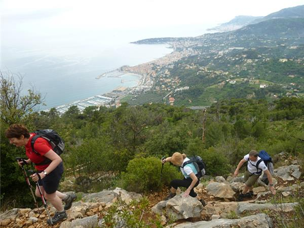French Riviera walking holiday, France