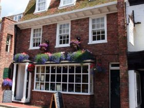 Rye bed and breakfast, East Sussex, England