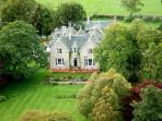 Luxury hotel in the Scottish Highlands