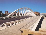 Calatravas_Bridge, Valencia. Photo by Valencia Tourist Board
