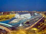 City_of_Arts_and_Sciences by night, Valencia. Photo by Valencia Tourist Board