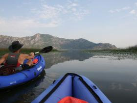 Kayaking holiday in Montenegro, Lake Skadar