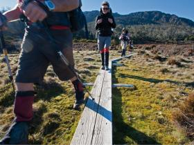 Trekking in the Walls of Jerusalem, Tasmania