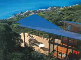 Accommodation at the Bay of Fires