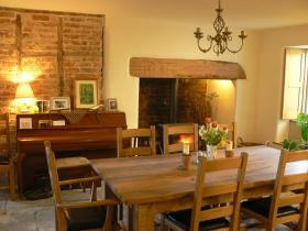 Dining Hall with Woodburner