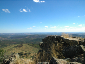Walk across Aracena's high sierra