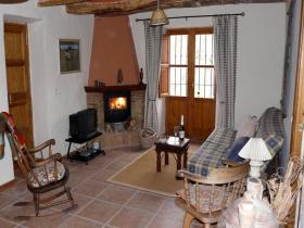 Sitting Room with cosy wood burning stove