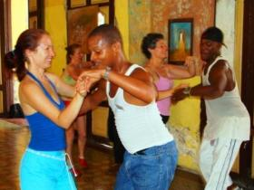 Cuban salsa lessons