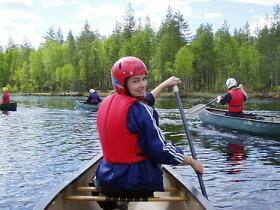 Canoeing holiday in Finland, Wild Taiga