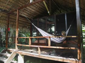 Huaorani ecolodge in Ecuador