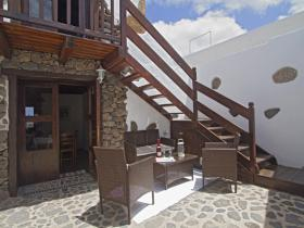 Traditional Canarian courtyard