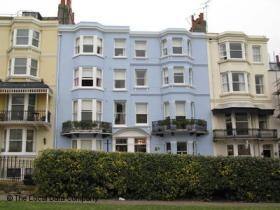 Brighton seafront bed and breakfast, England