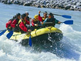 White Water Rafting, Austria