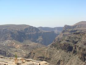 Jabel Akhdar Mountain Range - Oman