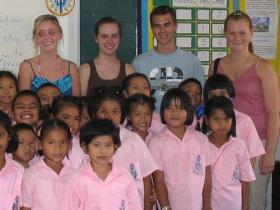 Thailand childcare volunteering holiday
