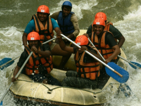 White Water Rafting at Kitulgala, Sri Lanka