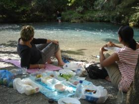 What can be better than a relaxing picnic after trekking...