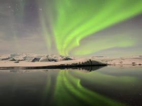 Aurora Jokuls�rlon March 2013