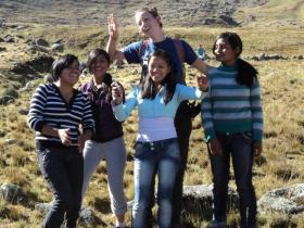 The project organise monthly field trips