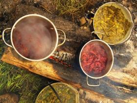 Scotland craft weekends felt making natural dyeing for The art and craft of natural dyeing