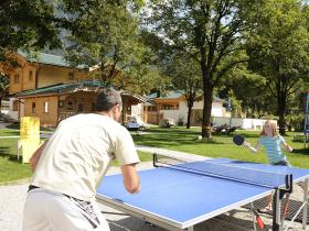 Table tennis, Feel Free Resort