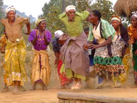 Experience the vibrant local cultural dance and performance whilst volunteering in Uganda