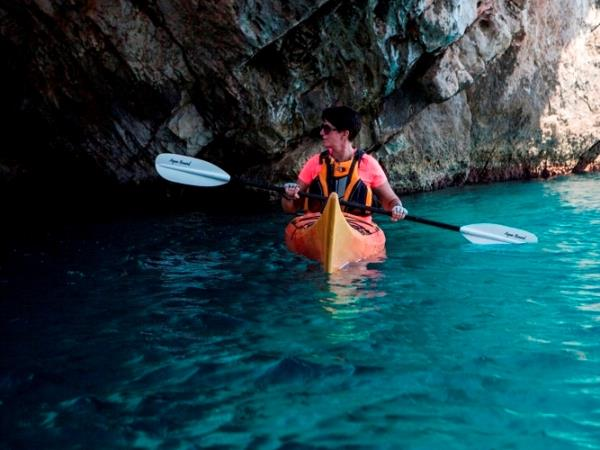 Sea kayaking holiday in Croatia