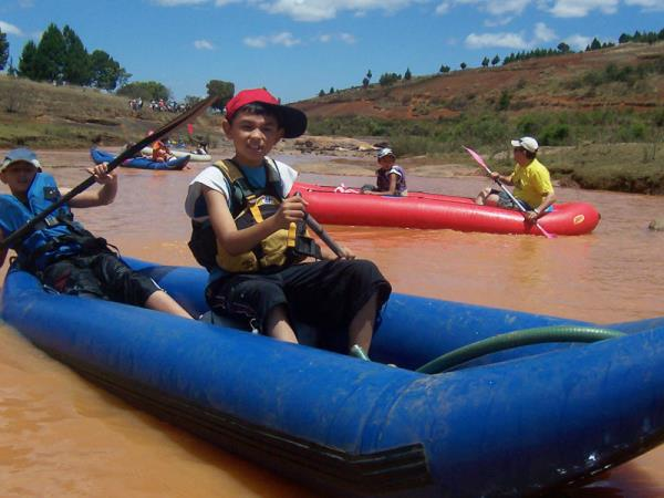 Madagascar adventure holiday, canoes & camping