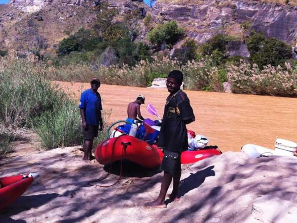 Madagascar rafting expedition