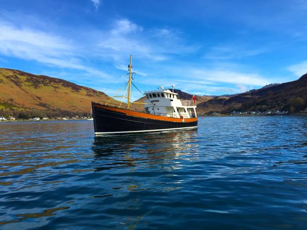 South Argyll cruise in Scotland, history and nature