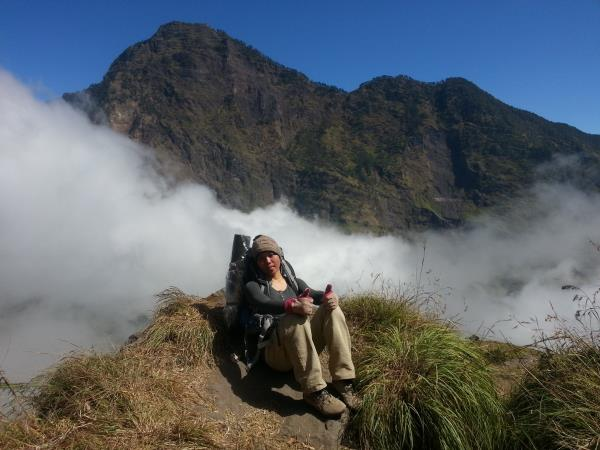 Climb Mount Rinjani, Indonesia
