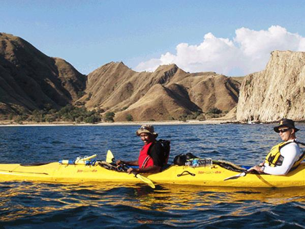 Kayaking holiday in Indonesia, Komodo Dragon expedition