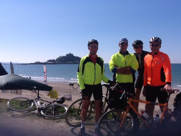 Lands End To John O'Groats cycling trip