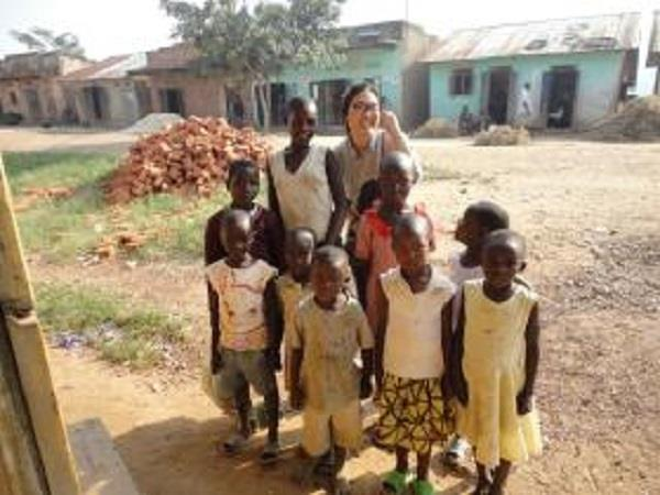 Community volunteering in rural Uganda