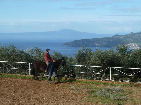 Horse riding and yoga holiday in Greece