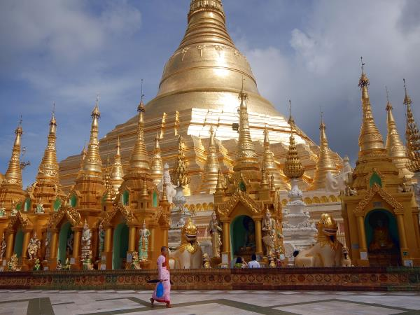 Burma tour, encompassed