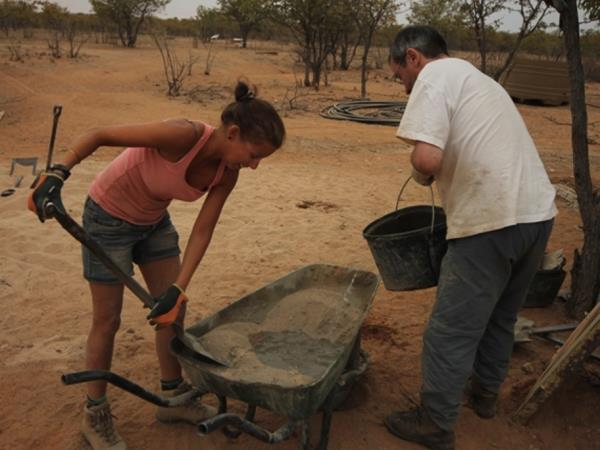 Elephant conservation volunteering in Namibia