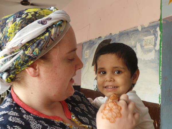Volunteering holiday in India