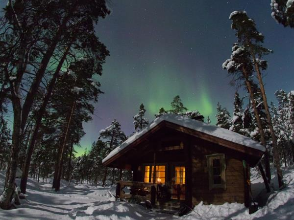 Finland Northern Lights holiday, Wilderness Auroras