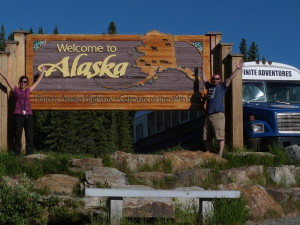 North America overland tour, Las Vegas to Anchorage