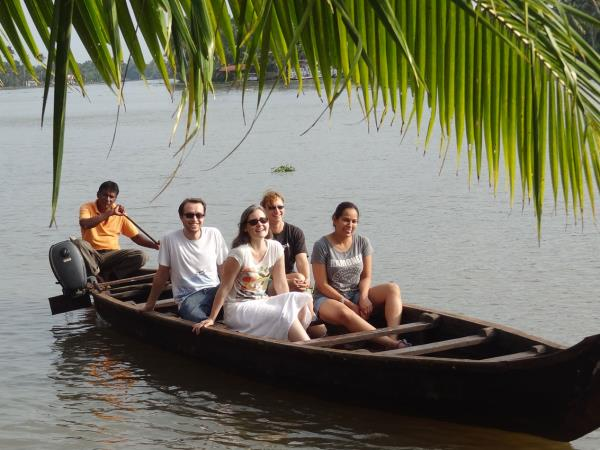 Kerala backwater holiday, India