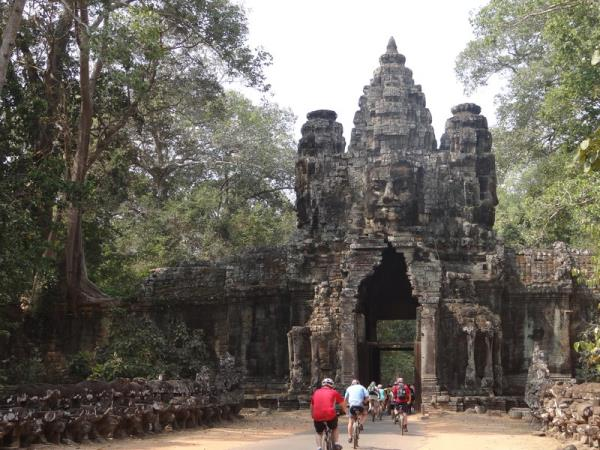 Cambodia cycling holiday