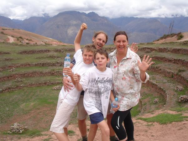 Peru family adventure holiday