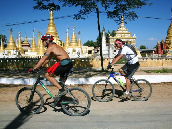 Cultural Burma tour by bicycle
