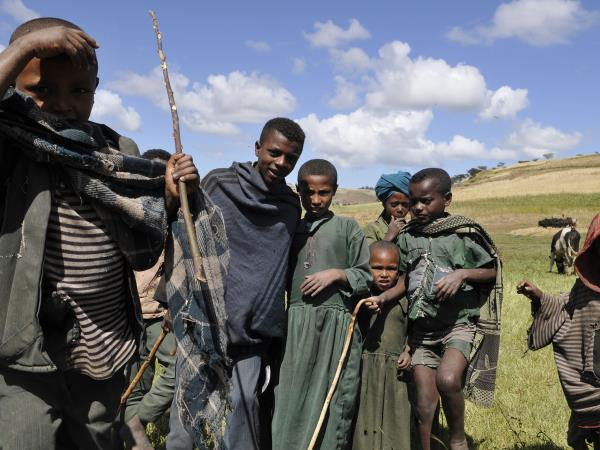 Ethiopia charity trek, lowest to highest in 18 days